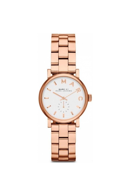 Marc Jacobs Mbm3248 Ladies Rose Gold Baker Mini Watch Womens